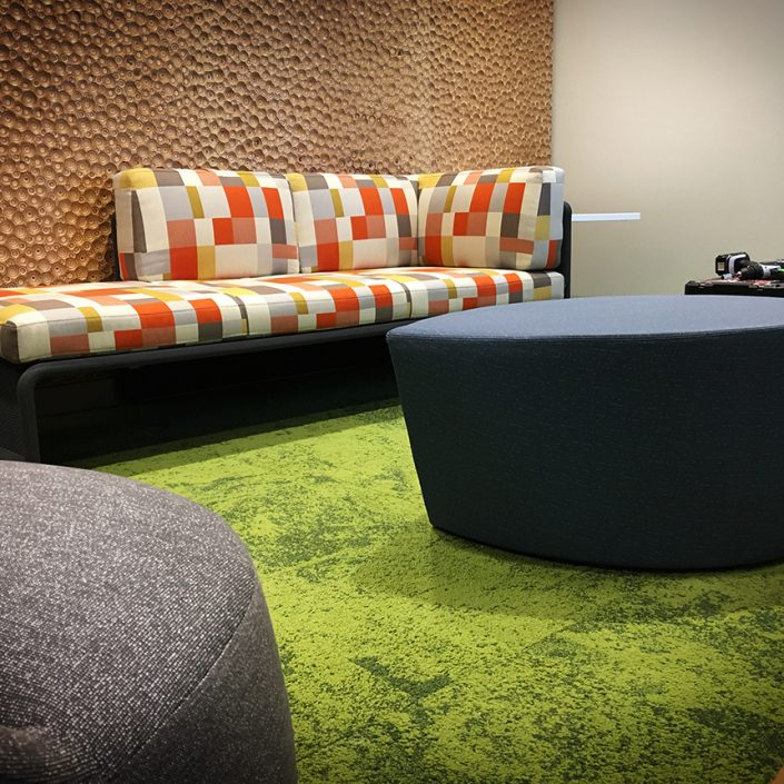 Carpeted Lounge Area