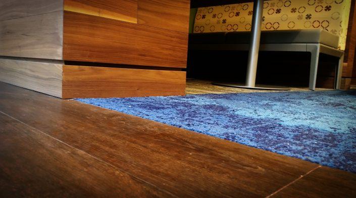 Luxury Vinyl Tile to Carpet Transition