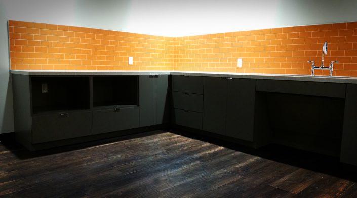 Luxury Vinyl Tile in Breakroom