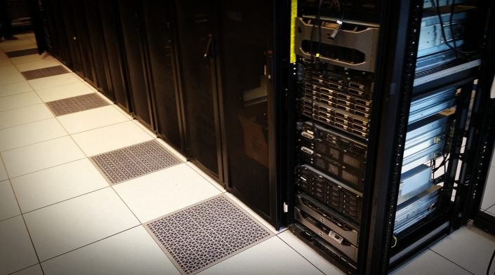 Access Flooring in Server Lab