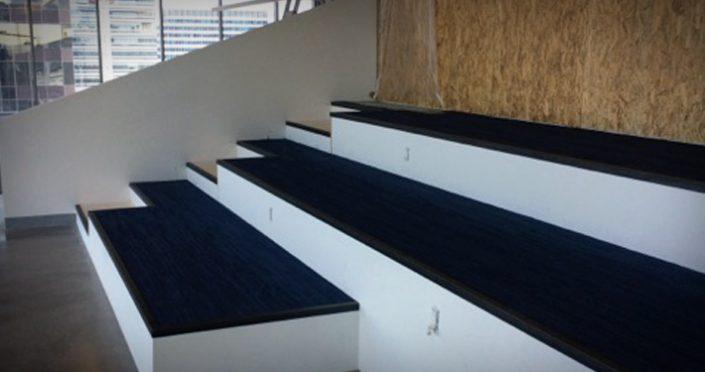 Custom Stage - Carpet on Raised Access Flooring