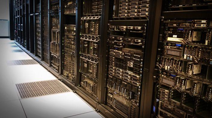 Servers on Raised Flooring